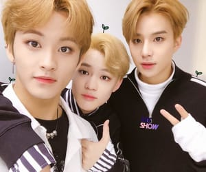 jungwoo, chenle, and mark image