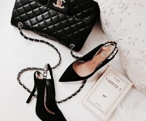 shoes, bag, and book image