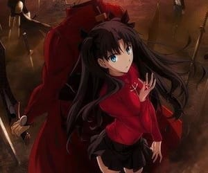 anime, anime girl, and rin image