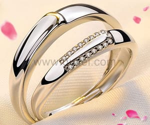romantic, soulmate, and wedding ring image