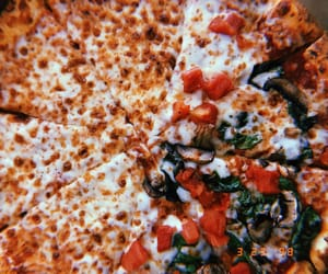aesthetic, food, and pizza image