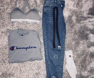 belt, blue, and Calvin Klein image