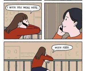 food, comic, and funny image