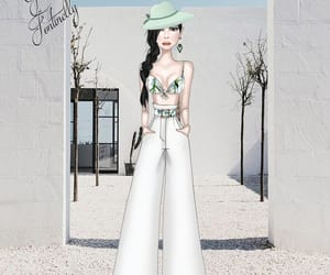 sketch, fashionsketch, and fashionillustrator image