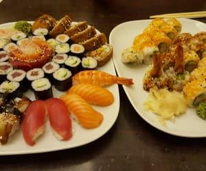 asian, avocado, and shrimp image