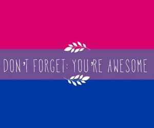 bisexual, be proud of yourself, and wallpaper image