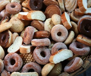 bagel and donuts image