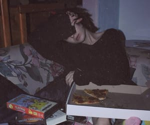 pizza and grunge image