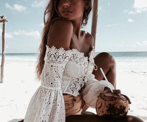 summer, beach, and fashion image
