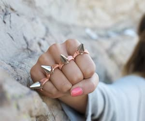 accessories, nails, and bling image