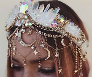 aesthetic, crown, and fashion image