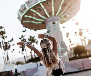 coachella, california, and girl image
