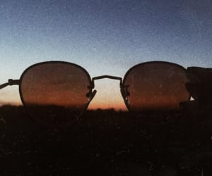 analog, gold, and sunglasses image