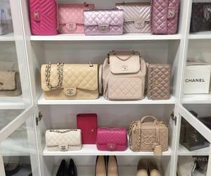 bag, chanel, and closet image