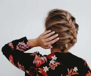 blonde, brunette, and style image