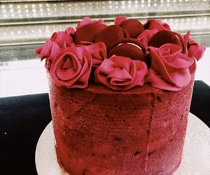 cake, torta, and flores image