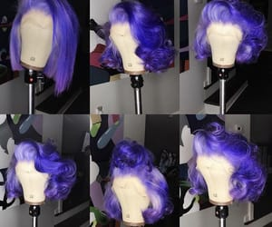 purple and wig image