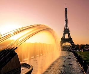 earth, eiffel tower, and europe image