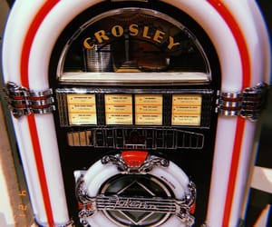 1950s, jukebox, and music image