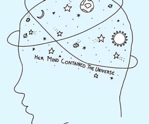 blue, space, and mind image