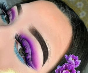 colours, make-up, and eyes image