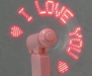 love, pink, and I Love You image