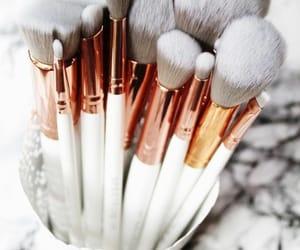 beauty, makeup, and make up brushes image