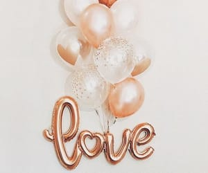 baloons, fashion, and love image