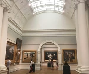 museum, aesthetic, and art image