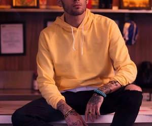 Tattoos, zayn, and yellow image