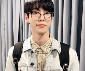 boys, glasses, and idols image