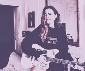 beauty, fashion, and guitars image