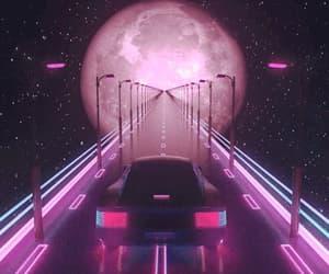 gif, moon, and aesthetic image