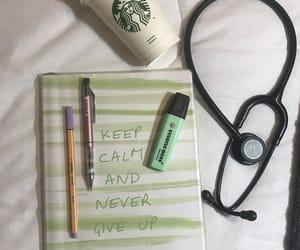 medicine, stetoscope, and medschool image