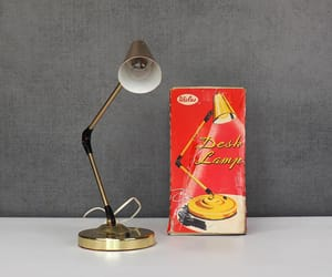 adjustable, mid century modern, and retro desk lamp image