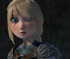 rtte, httyd2, and astrid hofferson image