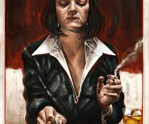 pulp fiction, art, and film image