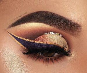 eye, makeup, and maquillage image