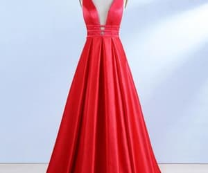 prom dress and red dress image