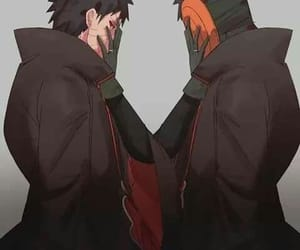 naruto, tobi, and obito image