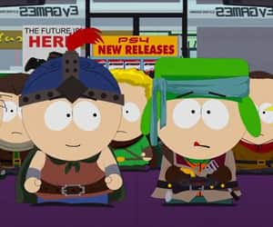 South park, stan x kyle, and style image