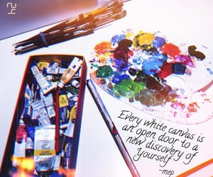 art, board, and mixed media image