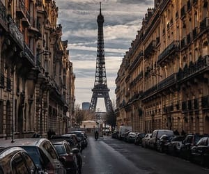 adventure, cities, and eiffel tower image