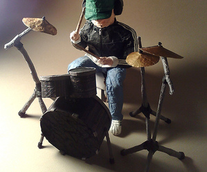 art, drummer, and cute image