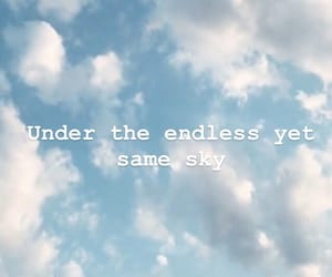 clouds, sky, and endless image