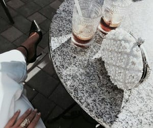 fashion, drinks, and style image