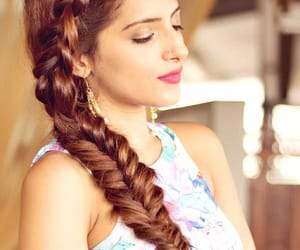 beauty and fashion ideas, easy hairstyles, and indian hairstyle image