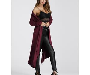 clothing, shein, and coats image
