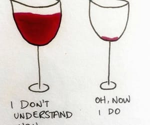 wine, drunk, and red image