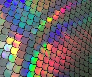 holographic, pretty, and rainbow image